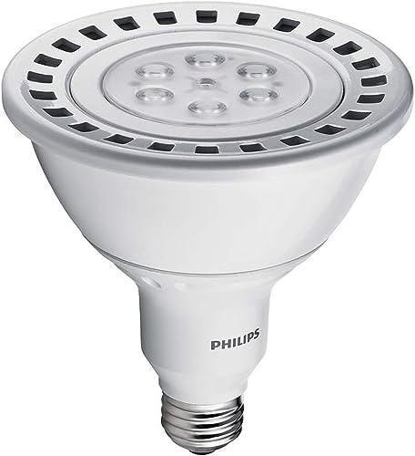 Philips 420521 18-Watt 90-Watt PAR38 LED Indoor Flood Light Bulb, Dimmable