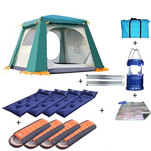 ティーンエイジャー操るけがをするTY&WJ 家族のテント,車 二重層 ドームテント アウトドア スポーツの 登山 ハイキング テント 防水 5 ~ 8 人