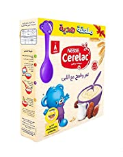 Cerelac Wheat with Dates and Milk, Extra Spoon - 125 grams