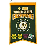 Winning Streak MLB Oakland Athletics 4 Time WS Champions Banner, One Size