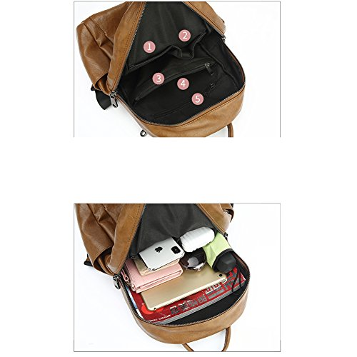 Simple Personality New Trend Backpack Fashion Casual Bag 2018 Leather Soft Wild Xks a8FP46a