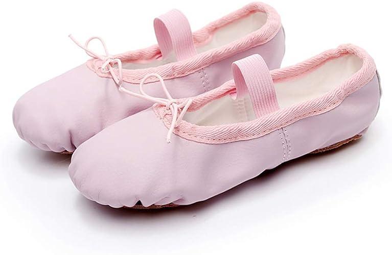 UK New Ballet Shoes Canvas Yoga Gymnastic Split Sole Adult/'s /& Children/'s Sizes
