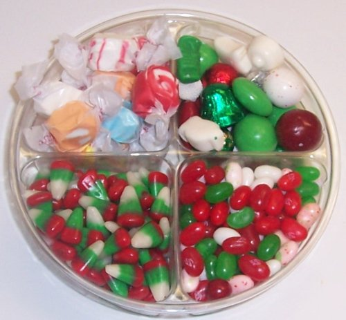 Scott's Cakes 4-Pack Christmas Mix Jelly Beans, Deluxe Christmas Mix, Reindeer Corn, & Nougat (Corn Nougat)