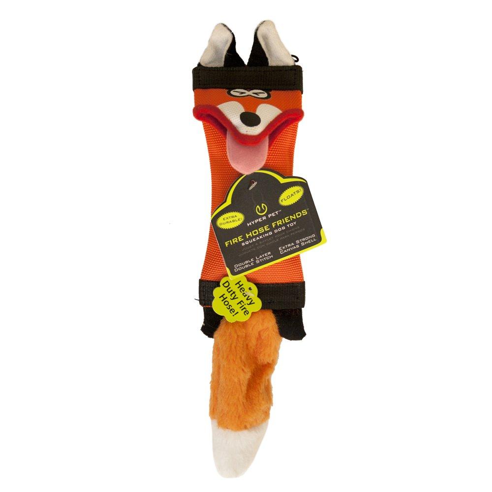 Hyper Pet Fire Hose Friends Fox Dog Toy