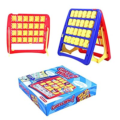 Kusocot Guess Who Classic Game Kid Board Games Ages 4-8 Memory Game Educational Toys Learning Toys for Boys & Girls (Guess Who?): Toys & Games
