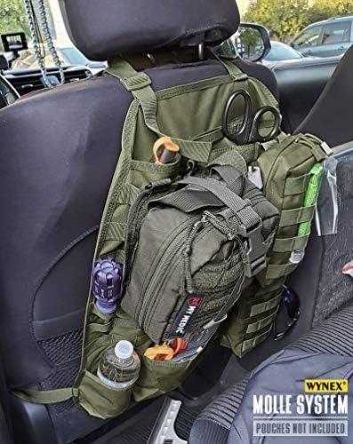 Wynex 2019 Tactical Molle Fahrzeug Abdeckung Universell Passend Für Rücksitz Mit 3 Aufbewahrungstasche Auto