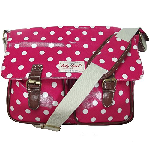 City Girl Ladies Girls Polka Dot (Spot) /Daisy Flower (Floral ...