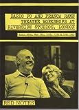Dario Fo and Franca Rame Theatre Workshops at Riverside Studios, London, Dario Fo and Franca Rame, 090630508X