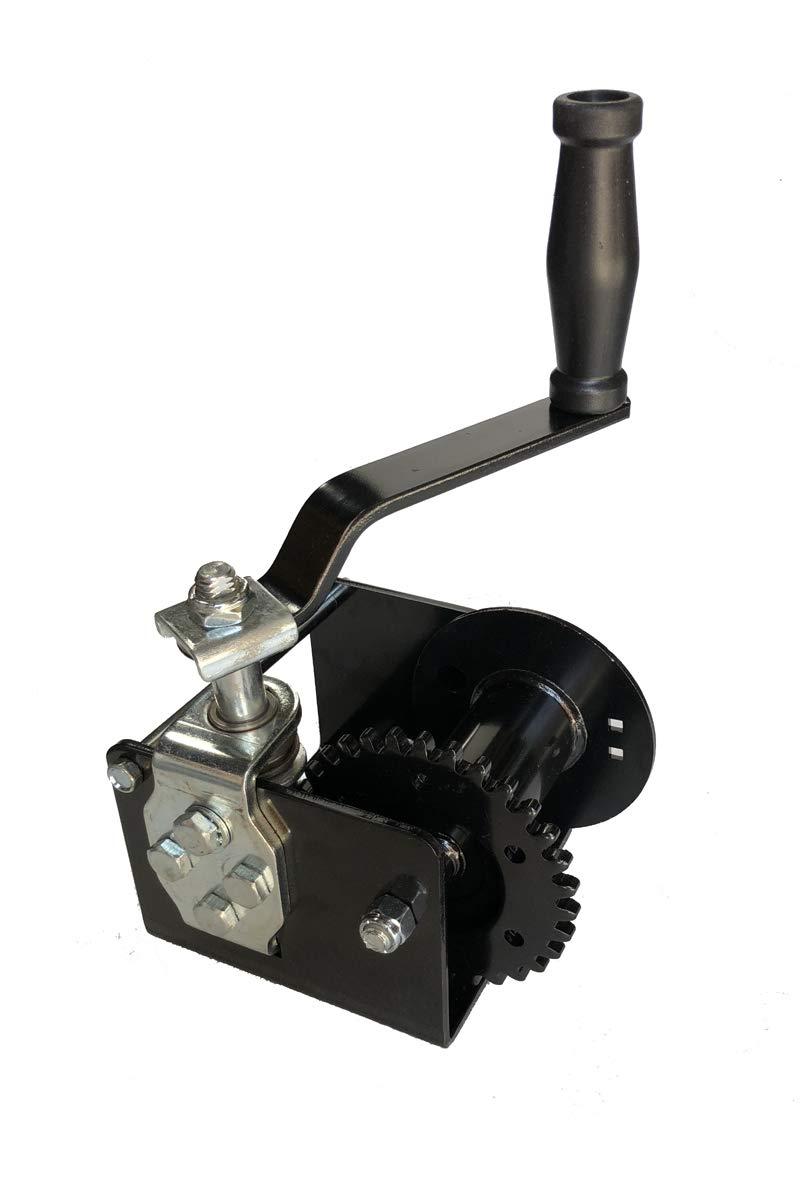 Worm Gear Winch 1500 lb Capacity