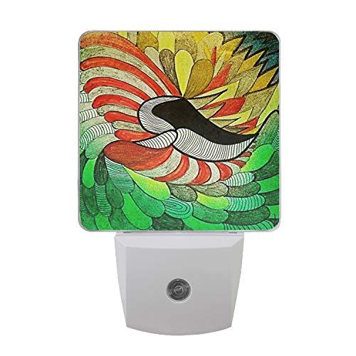 (Night Light Lamp with Dusk to Dawn Sensor, Plug in, Primavera Led Night Light)