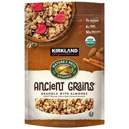 Kirkland Signature Nature's Path Organic Ancient Grains with Almonds, 35.3 oz