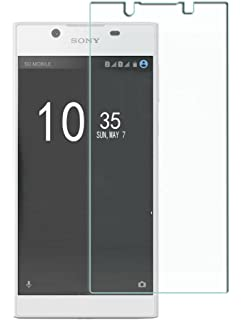 sony l1. sony xperia l1 screen protector,vigeer premium high definition (hd) clear (invisible
