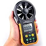 MS6252A Multifunctional Digital Anemometer Air Volume Tachometer Wind Air Speed Tester