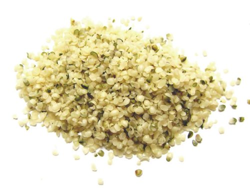 Organic Raw Hemp Seeds - 10 LB by Earthly Gourmet