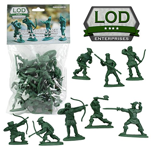 LOD Robin Hood and His Merry Men Figures