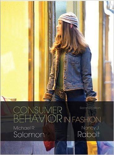 Amazon. In: buy consumer behavior in fashion (2nd edition) book.