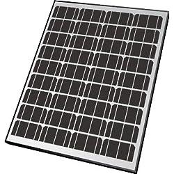 Nature Power 50082 85-Watt Monocrystalline Solar Powered 12-Volt Battery Charger