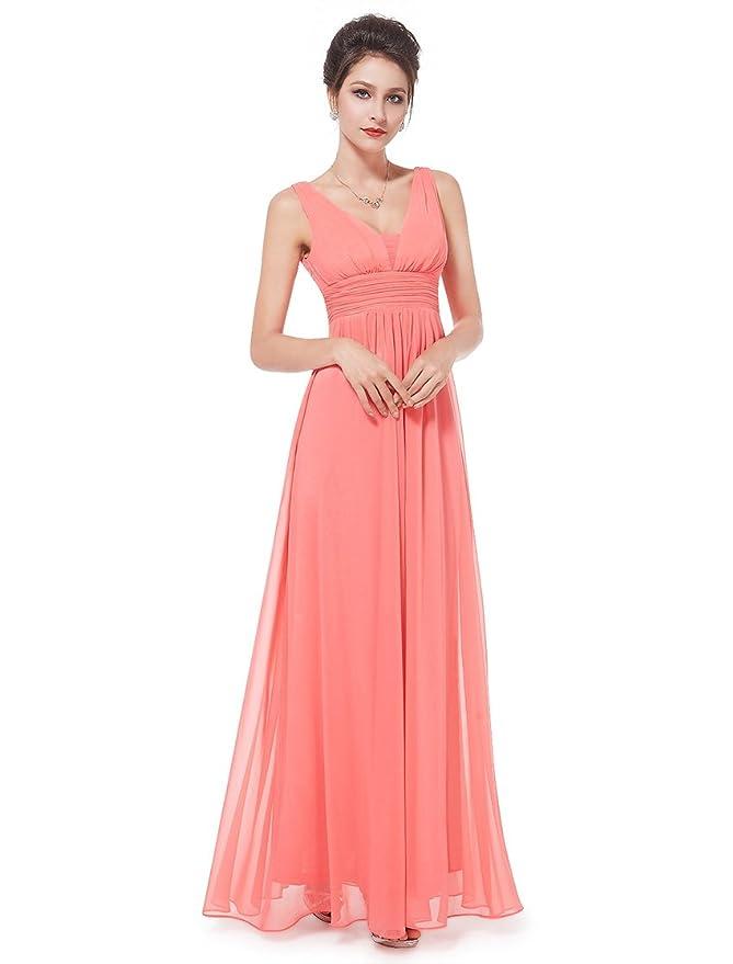 Ever Pretty Vestido para mujer largo 08110: Amazon.es: Ropa y accesorios