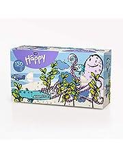 Bella Baby Happy Zakdoeken doos 2-laags verpakking met octopusmotief, kleurrijk, 150 stuks