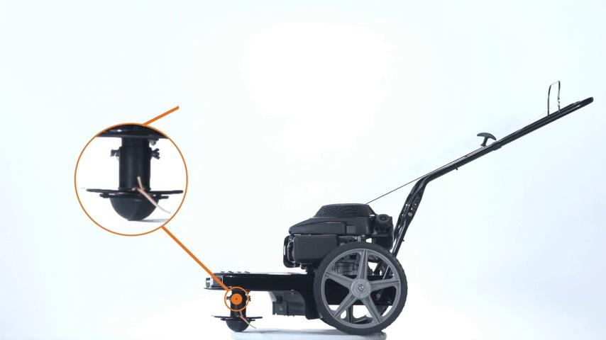 remington rm1159 walk-behind high-wheeled string trimmer