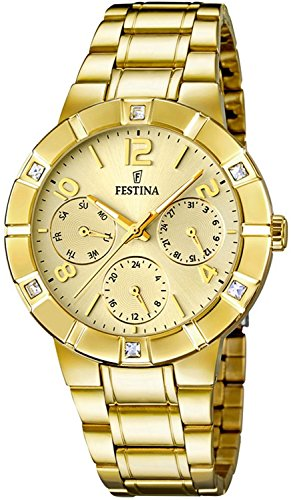 Festina Classic Ladies F16708/2 Wristwatch for women With crystals