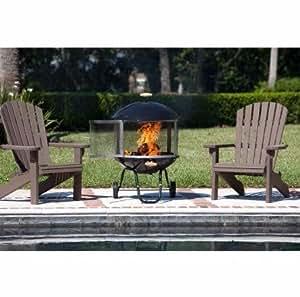 "Outdoor Fireplace, Screen Protector|28"" Bon Fire"