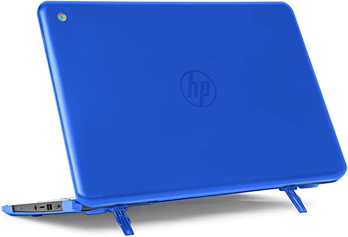 "mCover Hard Shell Case for 14"" HP Chromebook 14 G5 / 14-CA / 14-DB Series (NOT Compatible with Older HP C14 G1 / G2 / G3 / G4 Series) laptops (HP C14-G5 Blue)"
