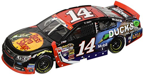 Tony Stewart #14 Bass Pro Shops/Ducks Unlimited NASCAR: An American Salute 2014 Chevy SS NASCAR Die-Cast Car, 1:24 Scale ARC HOTO