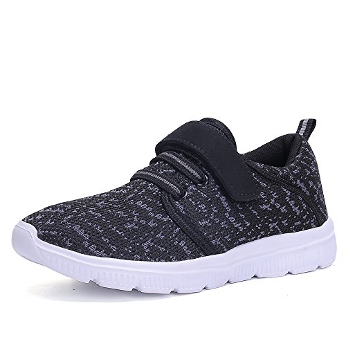 KALEIDO Kids Lightweight Breathable Sneakers Easy Walk Casual Sport Shoes For Boys Girls (2 M US Little Kid/EU 33, - Childrens Tennis Boys Shoes