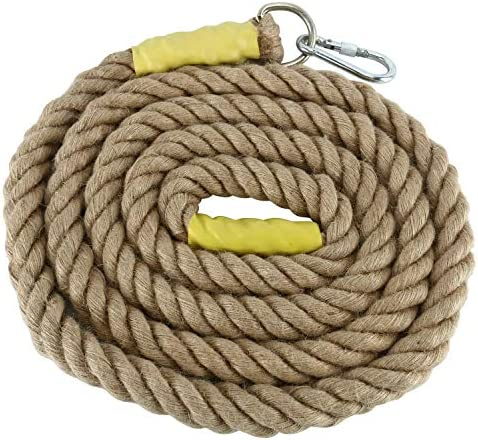 YAETEK Heavy Duty 10/13 Feet Gym Climbing Ropes for Adult Improve Grip and Increase Power (13, 1.5 INCH)