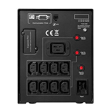 CyberPower VALUE1200EILCD gruppo di continuit/à UPS AC 1200 VA 6 presa e