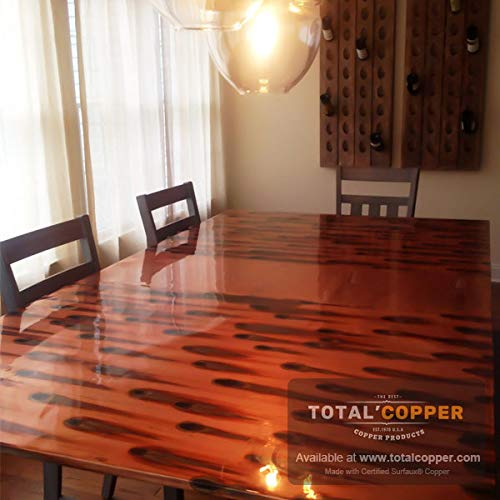 Color Copper Ideal for Bathroom Copper Sheet Metal Copper Bar Top Vanity /& More Countertop 18in x 6ft Kitchen Backsplash Stellar Patina Copper Sheet Light 36 Gauge Real Aged Patina