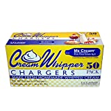 Leland Whipped Cream N2O Charger, 50 Count