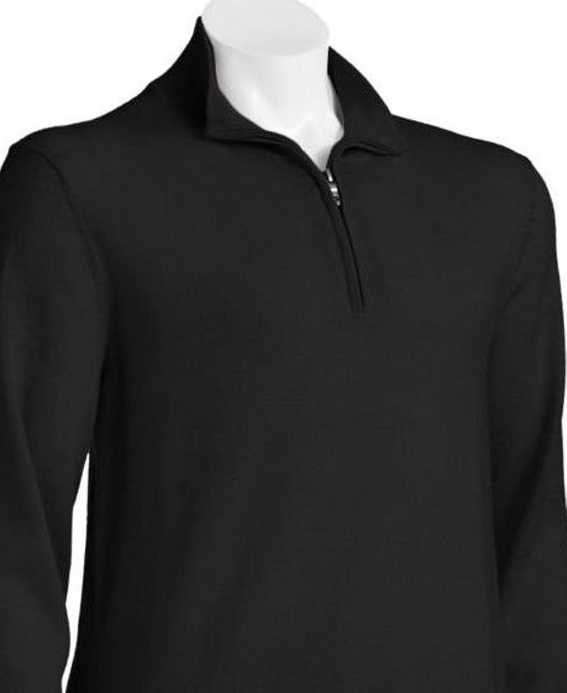 Liz Claiborne Apt 9 Mens 1/4 zip Sweater Merino Wool Blend Big ...