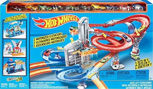 Hot Auto Wheels (Hot Wheels Auto Lift Expressway Play Set)