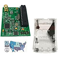 DVMEGA UHF Singleband DSTAR radio for Raspberry Pi with DVMEGA Case and Ham Guides Pocket Reference Card Bundle! …