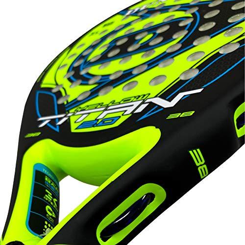 Dunlop Pala de Padel Titan 2.0 Yellow/Blue: Amazon.es ...