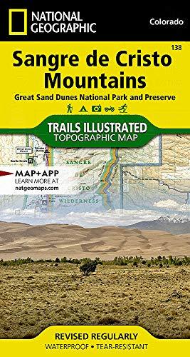 Sangre de Cristo Mountains Great Sand Dunes National Park & Preserve Colorado (Sangre De Cristo Mountains In New Mexico)