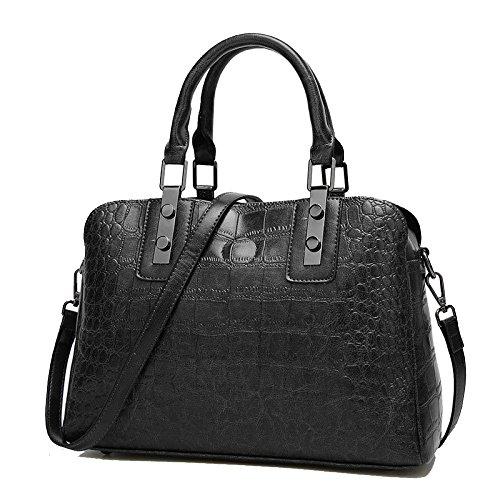 Black à Boston Sacs Sauvages Simples Main ZLLNSXKB Femmes Sac Shopping Mode Des De 57Tqxp