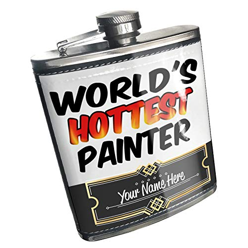 Neonblond Flask Worlds hottest Painter Custom Name Stainless Steel