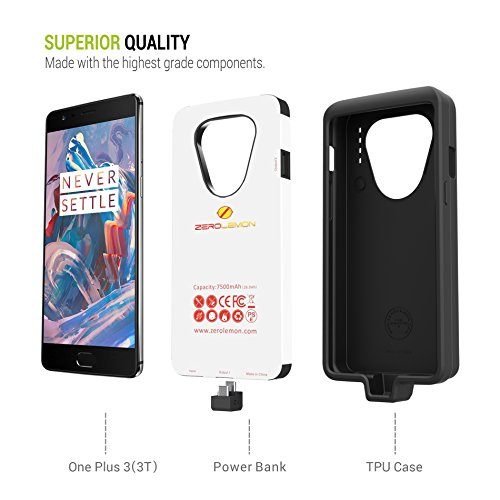 low priced 8f001 9d41f ZEROLEMON Battery Case For OnePlus 3/3T: Amazon.in: Electronics