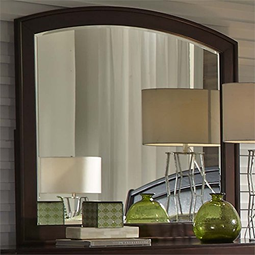 Liberty Furniture Avalon Bedroom Mirror, Dark Truffle Finish - Avalon Bedroom Bedroom Set