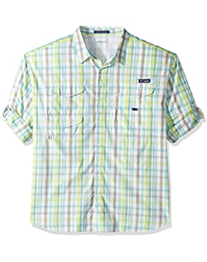 Men's Big Super Bonehead Classic Long Sleeve Shirt, Moxie Multi Gingham, X-Large/Tall
