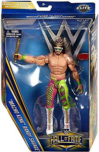 WWE Wrestling Elite Collection Hall of Fame Randy Savage 6'' Action Figure [Macho King] by WWE
