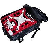Rucksack / Transportrucksack von MC CASES passend für DJI Phantom 3 Professional & Advanced (Schwarz)