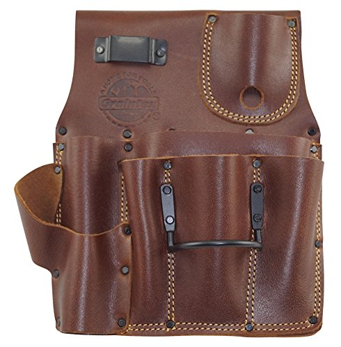 Graintex AS2587 Drywall Pouch R/H Ambassador Series Leather