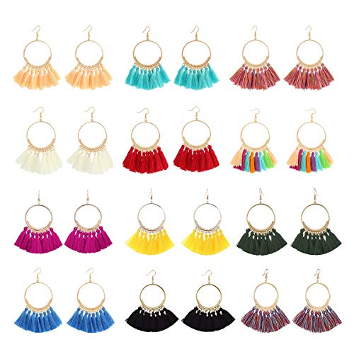 Which are the best tassel earrings hoops for women available in 2020?
