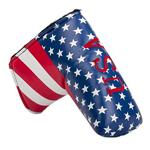 HIFROM TM Stars and Stripes Golf Putter Head Covers Headcover For All Brands Blade