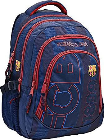 * * * Premium * * * FC Barcelona Mochila España Mochila Escolar Messi Sport Mochila Inoxidable Nuevo 45 x 30 x 23 cm: Amazon.es: Deportes y aire libre
