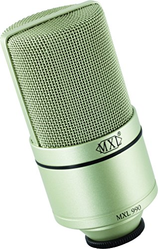 mxl 990 condenser microphone with shockmount learn how to write songs. Black Bedroom Furniture Sets. Home Design Ideas